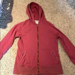 Marmot dusty pink zip up jacket